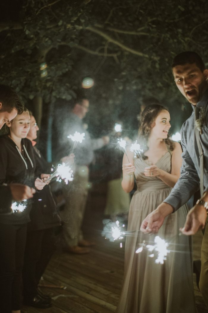 Sparklers Manitou Springs Colorado Wedding Becca Bloodsworth Via Mountainsidebride Com