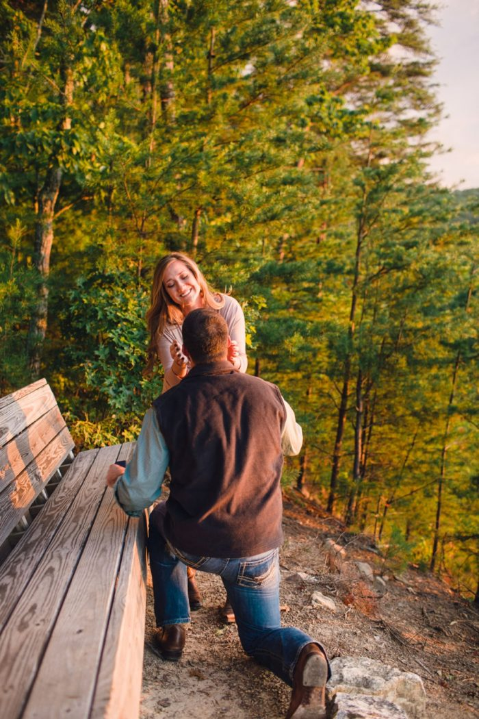 6 Butterfly Gap Surprise Engagement Red Boat Photography Via Mountainsidebride Com