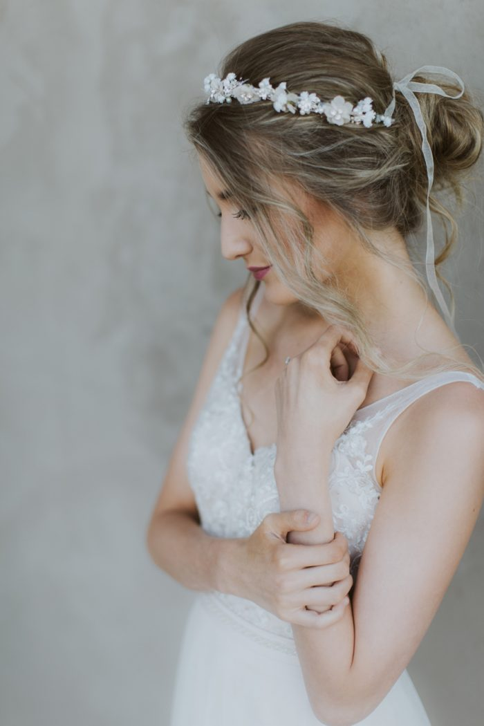 Bride Manitou Springs Colorado Wedding Becca Bloodsworth Via Mountainsidebride Com