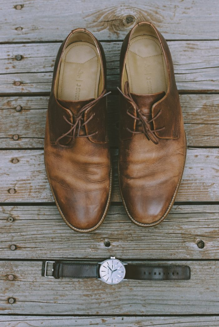 Brown Grooms Shoes Manitou Springs Colorado Wedding Becca Bloodsworth Via Mountainsidebride Com