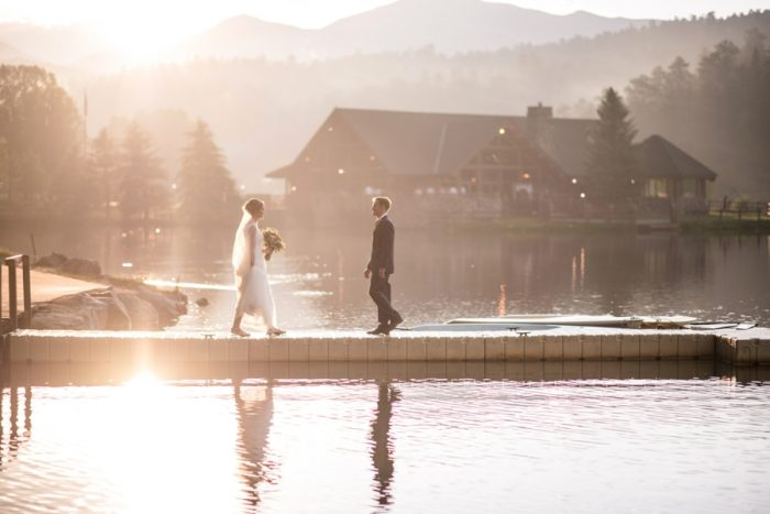 8 Colorado Wedding At Evergreen Lakehouse Elizabeth Ann Photography Via MountainsideBride.com