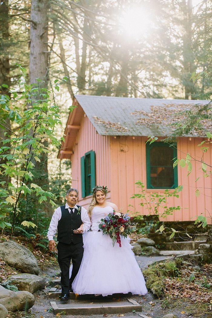 Irish Fairytale Mountain Wedding At Spense Cabin Jophoto Via Mountainsidebride Com