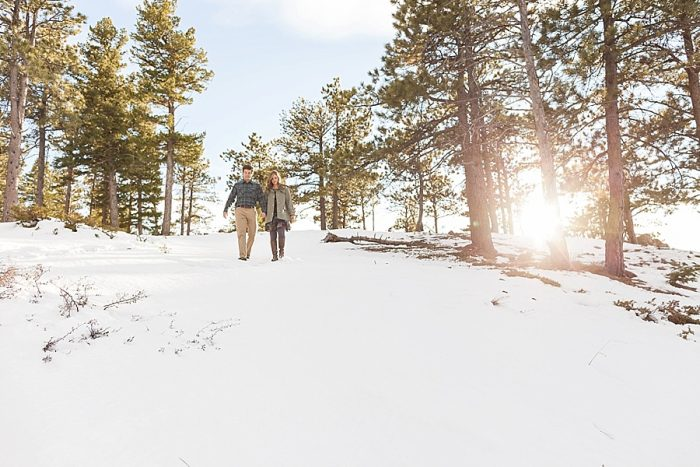 1 Boulder Colorado Winter Engagement Bergreen Photography Via Mountainsidebride Com