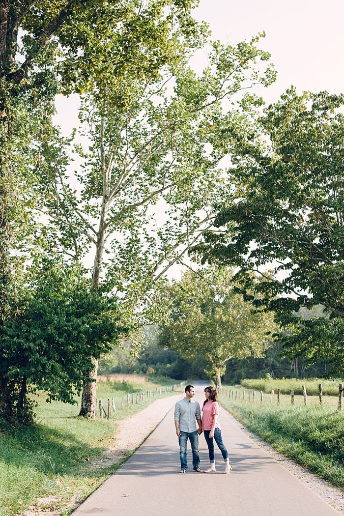 1 Cades Cove Engagement | Red Boat Photogrpahy | Via MountainsideBride