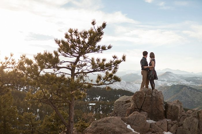10 Boulder Colorado Winter Engagement Bergreen Photography Via Mountainsidebride Com
