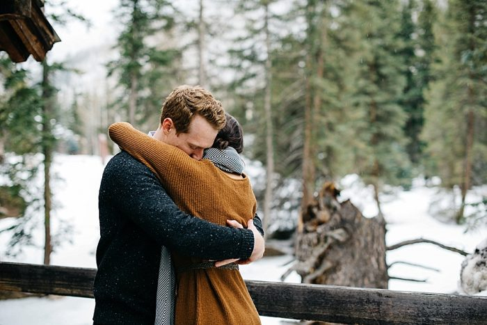 10 Vail Winter Engagement | Searching For The Light | Via MountainsideBride.com