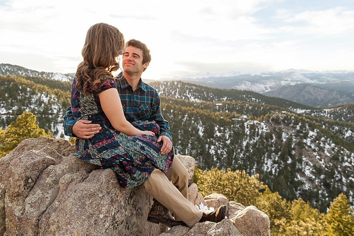 11 Boulder Colorado Winter Engagement Bergreen Photography Via Mountainsidebride Com