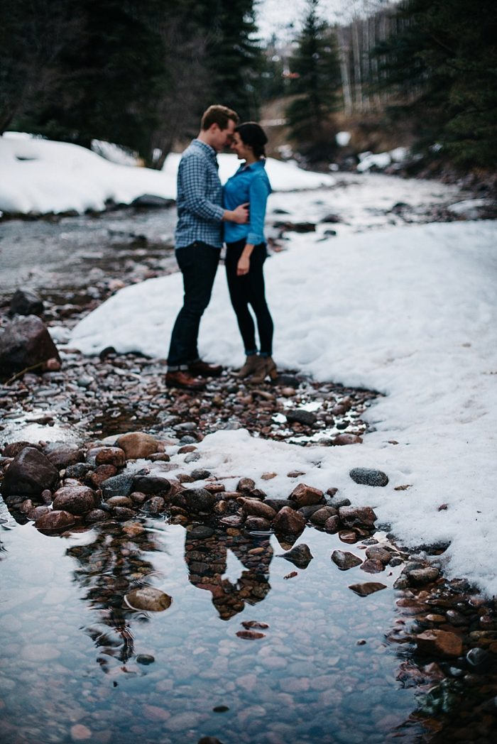 11 Vail Winter Engagement | Searching For The Light | Via MountainsideBride.com
