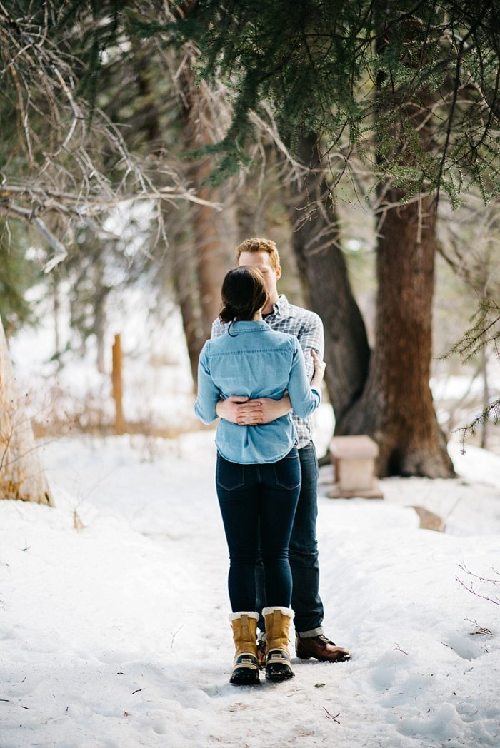 13 Vail Winter Engagement | Searching For The Light | Via MountainsideBride.com