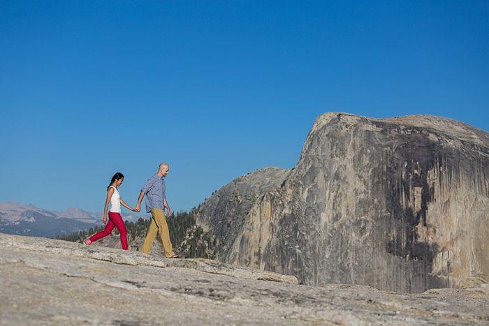13 Yosemite Engagement | Bergreen Photography | Via MountainsideBride.com
