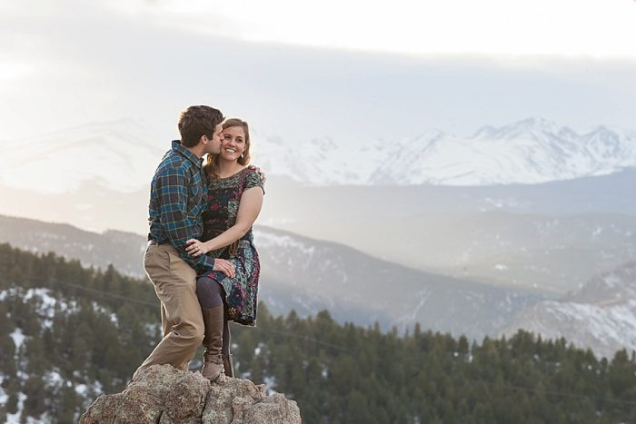 16 Boulder Colorado Winter Engagement Bergreen Photography Via Mountainsidebride Com