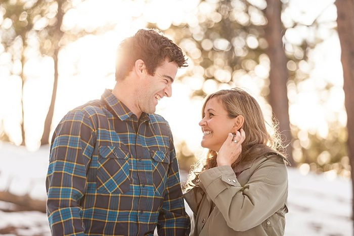2 Boulder Colorado Winter Engagement Bergreen Photography Via Mountainsidebride Com