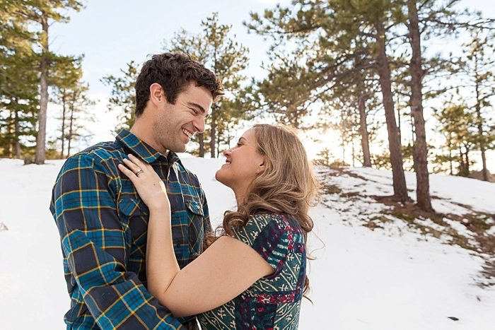 4 Boulder Colorado Winter Engagement Bergreen Photography Via Mountainsidebride Com