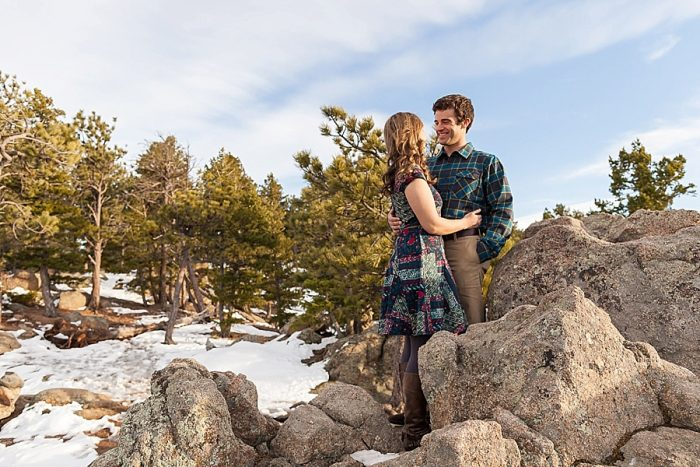 5 Boulder Colorado Winter Engagement Bergreen Photography Via Mountainsidebride Com