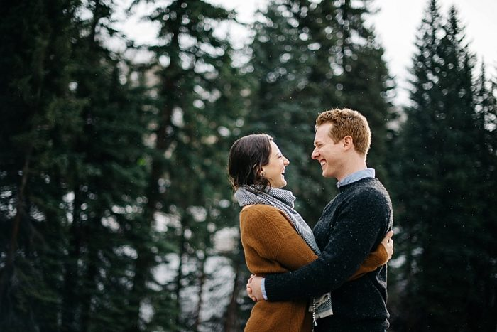 6 Vail Winter Engagement | Searching For The Light | Via MountainsideBride.com