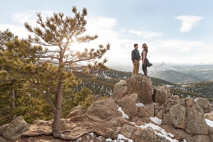 7 Boulder Colorado Winter Engagement Bergreen Photography Via Mountainsidebride Com
