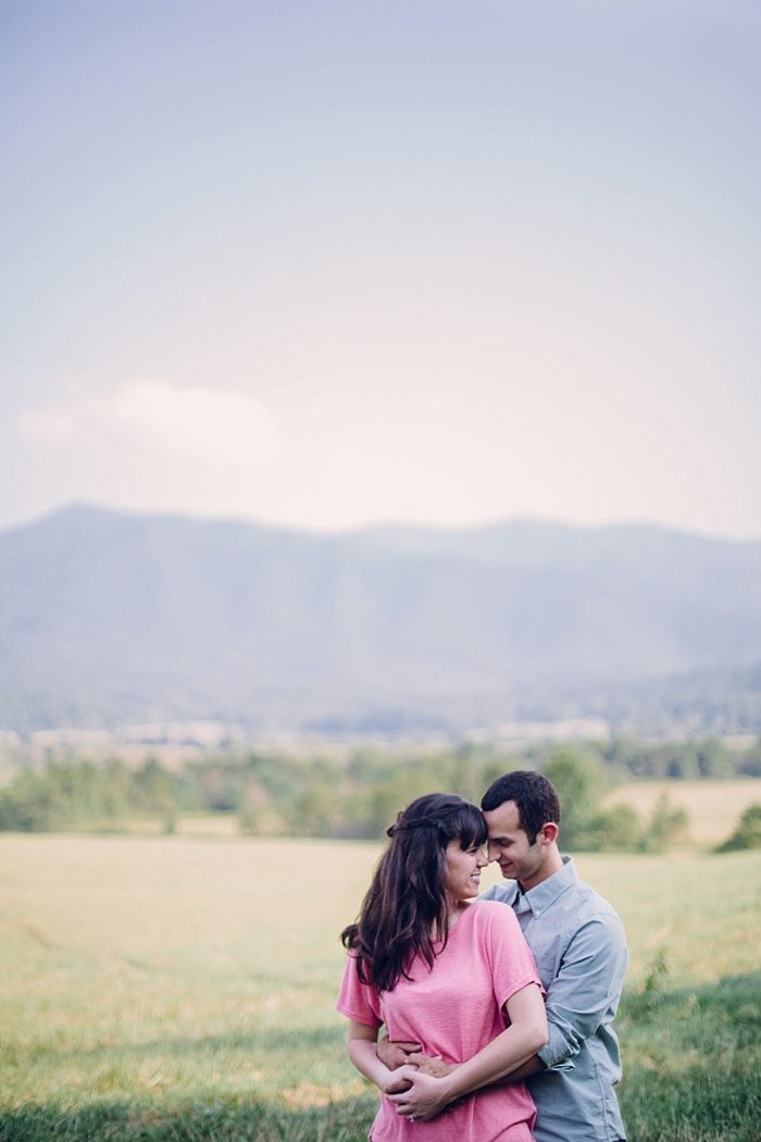 7 Cades Cove Engagement | Red Boat Photogrpahy | Via MountainsideBride