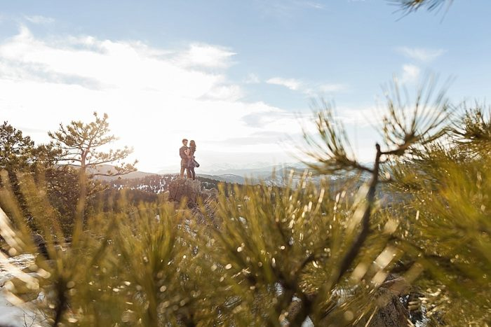 8 Boulder Colorado Winter Engagement Bergreen Photography Via Mountainsidebride Com