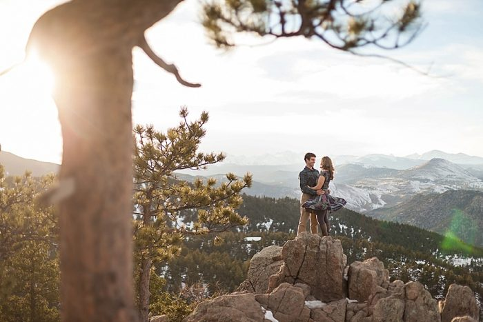 9 Boulder Colorado Winter Engagement Bergreen Photography Via Mountainsidebride Com