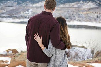 10 Colorado Winter Engagement KB Digital Designs | MountainsideBride.com