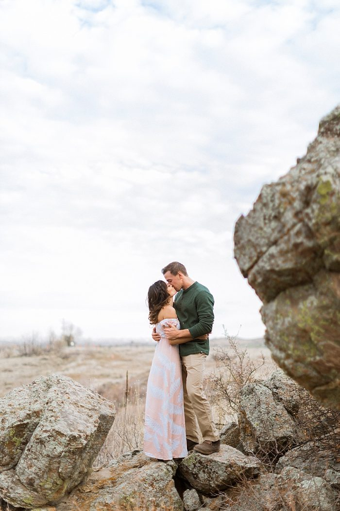 13 Valentines Engagement Loveland CO | Sarah Porter Photography | Via MountainsideBride.com