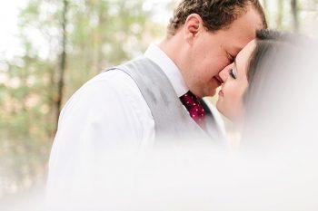 13 Kiss | Vermont Fall Wedding | Lex Nelson Photography | Via MountainsideBride.com