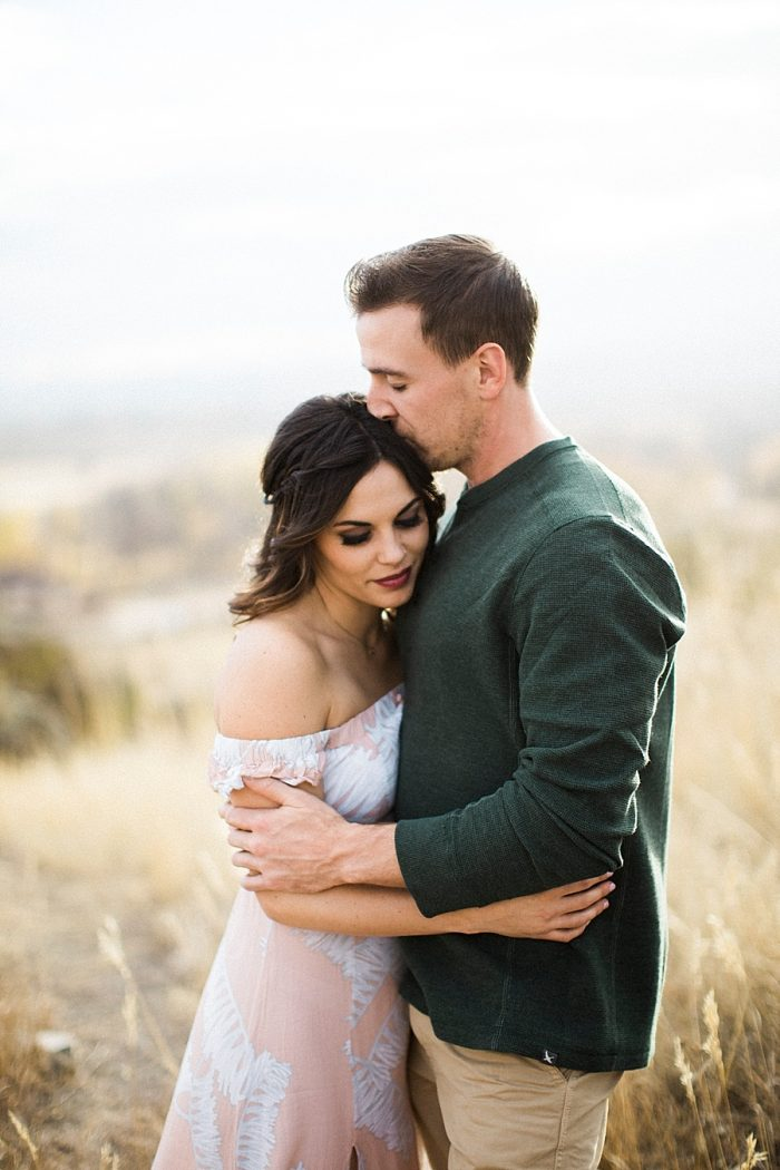 14 Valentines Engagement Loveland CO | Sarah Porter Photography | Via MountainsideBride.com