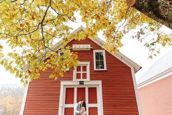 14 Portraits | Vermont Fall Wedding | Lex Nelson Photography | Via MountainsideBride.com