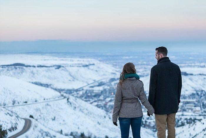 15 Train Engagement | Bergreen Photography | Via MountainsideBride.com