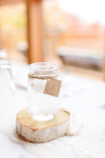 18 Mason Jar Vermont Fall Wedding | Lex Nelson Photography | Via MountainsideBride.com