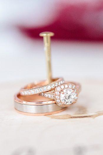 2 Engagement Rings | Vermont Fall Wedding | Lex Nelson Photography | Via MountainsideBride.com