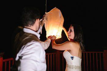 27 Paper Lantern | Vermont Fall Wedding | Lex Nelson Photography | Via MountainsideBride.com