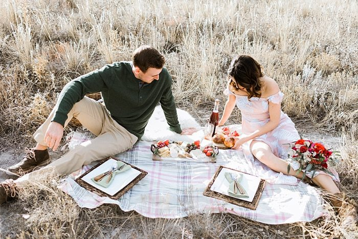 28 Valentines Engagement Loveland CO | Sarah Porter Photography | Via MountainsideBride.com