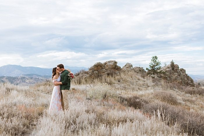 32 Valentines Engagement Loveland CO | Sarah Porter Photography | Via MountainsideBride.com