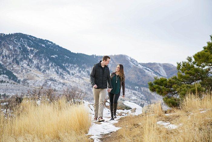 5 Colorado Winter Engagement KB Digital Designs | MountainsideBride.com