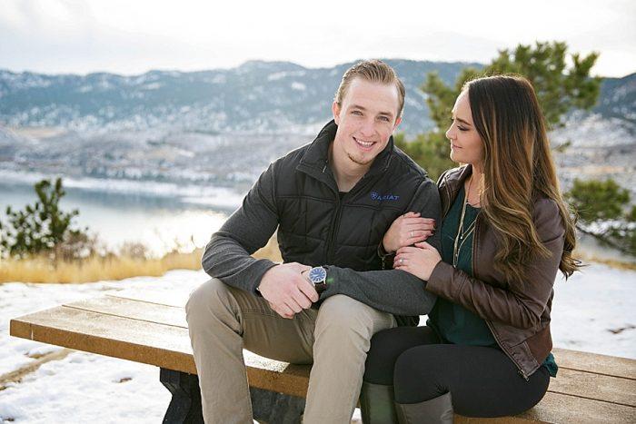 6 Colorado Winter Engagement KB Digital Designs | MountainsideBride.com