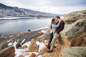 8 Colorado Winter Engagement KB Digital Designs | MountainsideBride.com