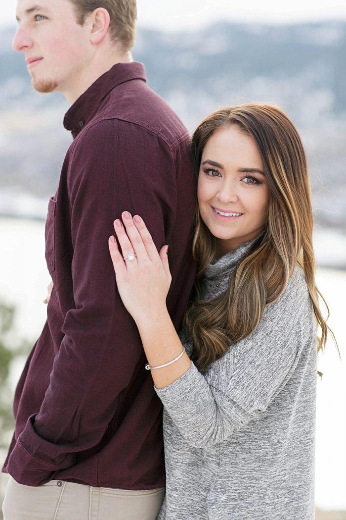 9 Colorado Winter Engagement KB Digital Designs | MountainsideBride.com