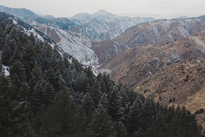 1 LookOut Mountain Colorado Bridal Shoot   Kyle Loves Tori Photography   Via MountainsideBride.com
