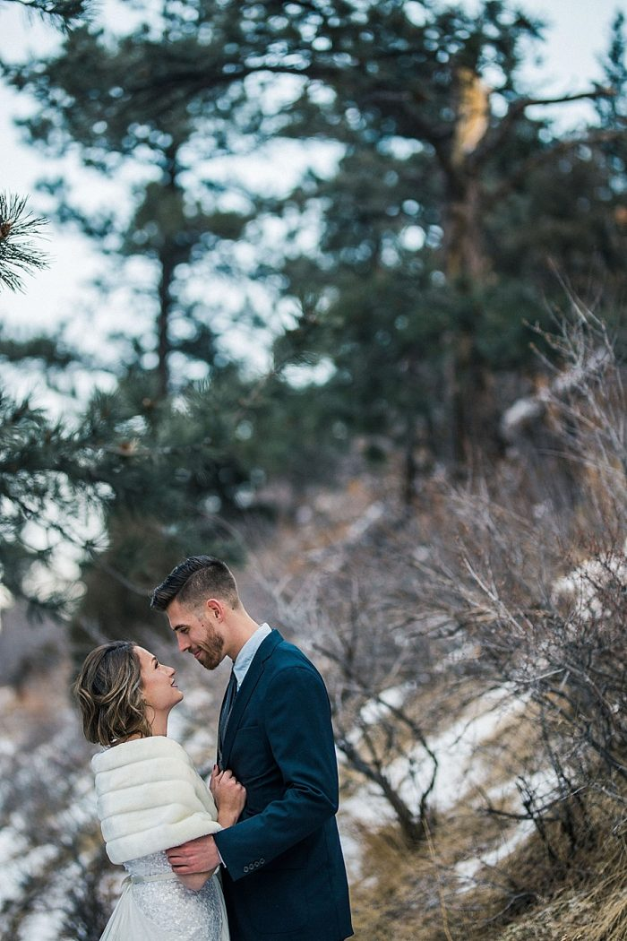 11 LookOut Mountain Colorado Bridal Shoot | Kyle Loves Tori Photography | Via MountainsideBride.com