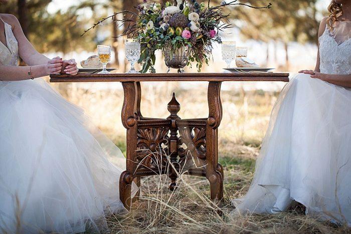 15 Colorado Same Sex Boho Wedding Inspiration   Katie Keighin Photography  via MountainsideBride.com