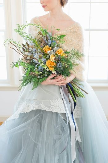 16 Vermont Winter Wedding Inspiration   Amy Donohue Photography   Via MountainsideBride.com