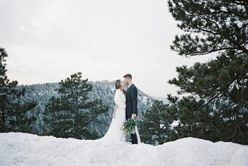 17 LookOut Mountain Colorado Bridal Shoot | Kyle Loves Tori Photography | Via MountainsideBride.com