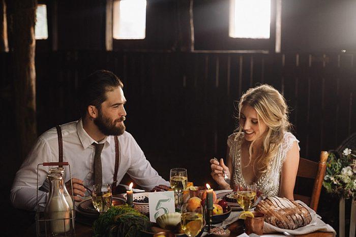 18 Autumn Harvest Wedding Inspiration | Carolyn Marie Photography | Via MountainsideBride.com