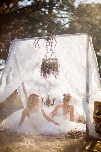 20 Colorado Same Sex Boho Wedding Inspiration   Katie Keighin Photography  via MountainsideBride.com