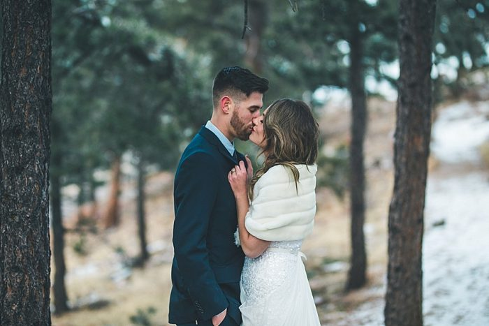 20 LookOut Mountain Colorado Bridal Shoot | Kyle Loves Tori Photography | Via MountainsideBride.com