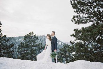 21 LookOut Mountain Colorado Bridal Shoot | Kyle Loves Tori Photography | Via MountainsideBride.com
