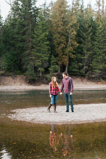 3 Glacier National Park Engagement | Joni Bilderback Photography | Via MountainsideBride.com