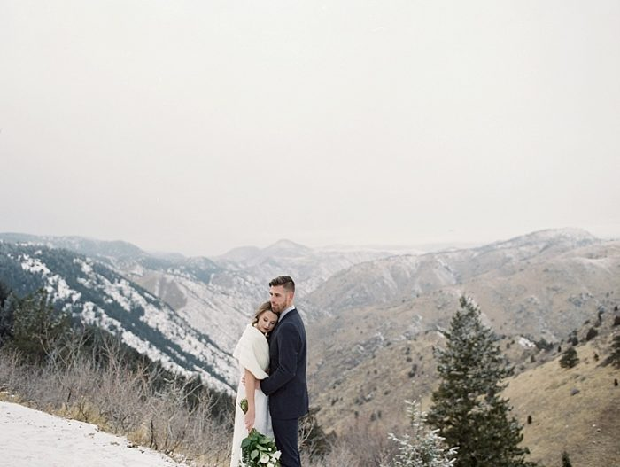 4 LookOut Mountain Colorado Bridal Shoot | Kyle Loves Tori Photography | Via MountainsideBride.com