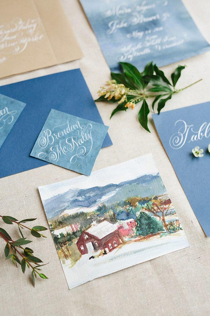 5 Vermont Winter Wedding Inspiration | Amy Donohue Photography | Via MountainsideBride.com